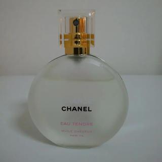 シャネル(CHANEL)のシャネル チャンス オータンドゥル ヘアオイル 35ml  限定品(ヘアウォーター/ヘアミスト)