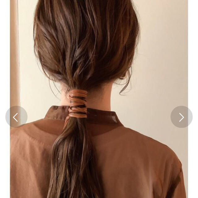 dholic(ディーホリック)のぐるぐるワイヤーポニー レディースのヘアアクセサリー(その他)の商品写真