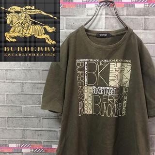 バーバリーブラックレーベル(BURBERRY BLACK LABEL)のバーバリーブラックレーベル Tシャツ 半袖 三陽商会 アースカラー BO(Tシャツ/カットソー(半袖/袖なし))