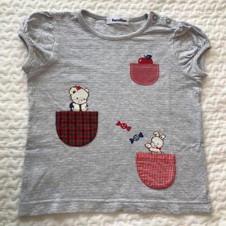 familiar - ファミリア tシャツ 半袖 110cm