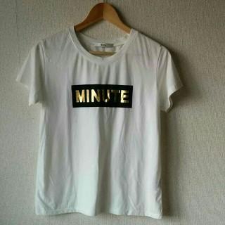GRL - 【送料込み!】GRL 泊プリント Tシャツ ホワイト