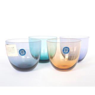 東洋佐々木ガラス - SASAKI GLASS Handcrafted カラーグラス 4客