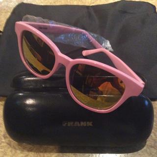 フランクワンファイブワン(Frank151)の新品 FRANK  ミラー サングラス ピンク(サングラス/メガネ)