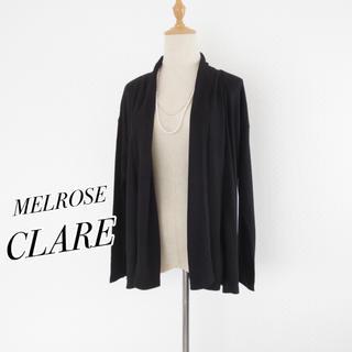 メルローズクレール(MELROSE claire)のメルローズクレール■接触冷感 トッパーカーディガン■羽織(カーディガン)