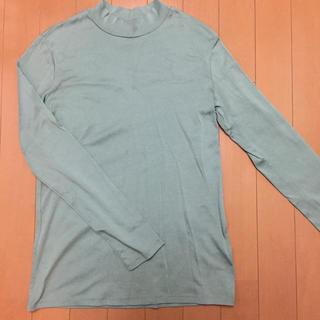 ユニクロ(UNIQLO)のユニクロ スーピマコットン タートルネック アースカラー(Tシャツ(長袖/七分))