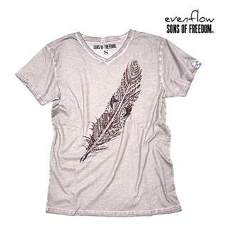 ロンハーマン(Ron Herman)のEVEN FLOW×SONS OF FREEDOM フェザーヴィンテージTシャツ(Tシャツ/カットソー(半袖/袖なし))