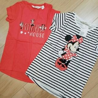 H&M - 新品 ♡H&M♡ ミニーちゃん Tシャツ 2枚セット