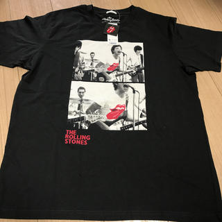 ジーユー(GU)の廃盤商品・レア GU×ローリングストーンズ コラボTシャツ XLサイズ(ミュージシャン)
