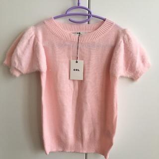 GRL - ★ 新品・未使用・タグ付き! GRL グレイル の 半袖ニット ピンク ★