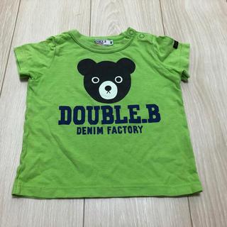 DOUBLE.B - ミキハウス ダブルB 半袖Tシャツ トップス カットソー80cm 男の子 Bくん
