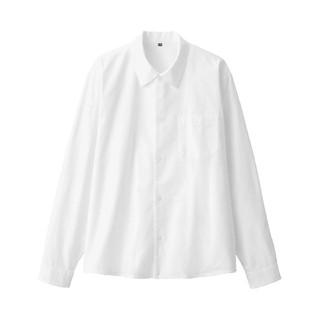 ムジルシリョウヒン(MUJI (無印良品))の無印良品 新疆綿オックススクエアカットシャツS~M・白(シャツ)