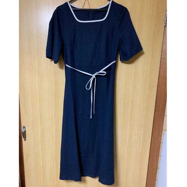 dholic(ディーホリック)のABITOKYO ・リネンワンピース・韓国ファッション・未使用美品 レディースのワンピース(ひざ丈ワンピース)の商品写真