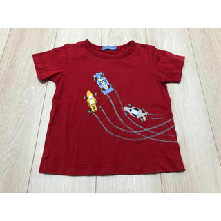 familiar - ファミリア Tシャツ トップス カットソー 110cm 100cm 男の子 赤