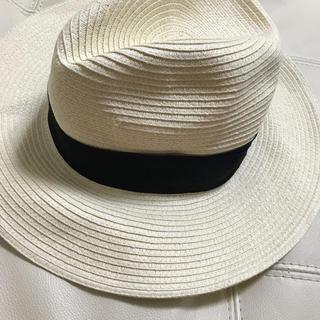 ケービーエフ(KBF)のKBF 麦わら帽子(麦わら帽子/ストローハット)