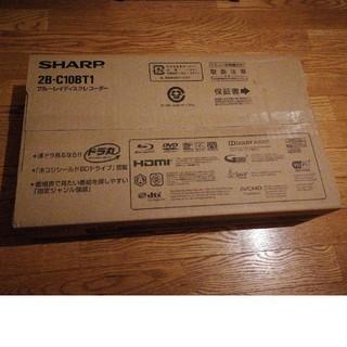 SHARP - SHARP AQUOS ブルーレイディスクレコーダー 2B-C10BT1