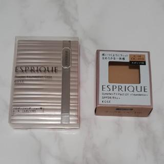 ESPRIQUE - エスプリーク シンクロフィット パクト UV OC-410 オークル(9.3g)