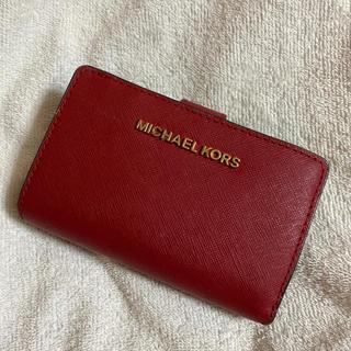 Michael Kors - マイケルコース  赤 財布