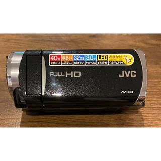 ケンウッド(KENWOOD)のVictor・JVC GZ-E265-B  ケース・バッテリー2個・充電器付(ビデオカメラ)