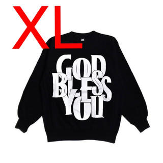 【XL】GOD BLESS YOU CREWNECK   EXAMPLE