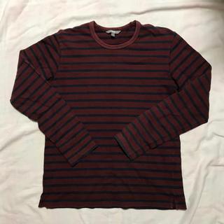ユニクロ(UNIQLO)のユニクロ ボーダーTシャツ ストライプ(Tシャツ(長袖/七分))