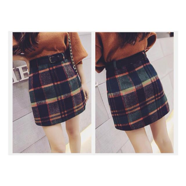 ♡ XL オルチャン スカート ♡ レディースのスカート(ミニスカート)の商品写真