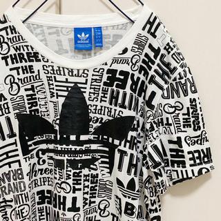 adidas - アディダスオリジナルオリジナルス 総柄 Tシャツ
