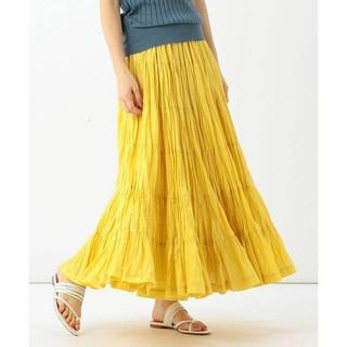 デミルクスビームス(Demi-Luxe BEAMS)のMARIHA マリハ 草原の虹のスカート 試着のみ(ロングスカート)