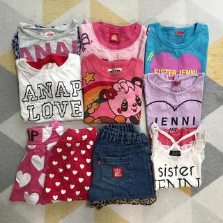 アナップキッズ(ANAP Kids)のsister Jenni  ANAPなど✨ブランド女の子服まとめ売り✨110㎝(Tシャツ/カットソー)