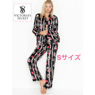 Victoria's Secret - ヴィクトリアシークレット サテンパジャマ Sサイズ【新品】