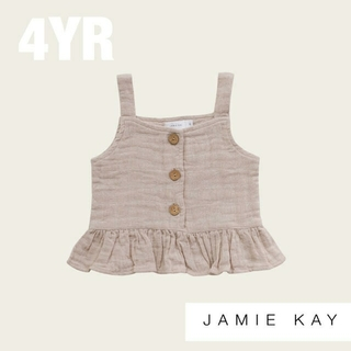 キャラメルベビー&チャイルド(Caramel baby&child )の【Jamie Kay】ジェイミーケイ オーガニックコットン キャミソール(Tシャツ/カットソー)