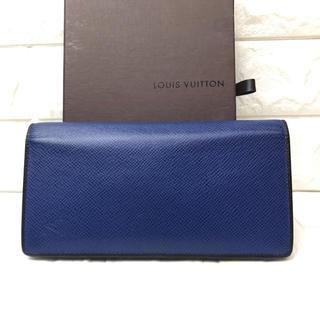 ルイヴィトン(LOUIS VUITTON)のLOUISVUITTONルイヴィトンタイガポルトフォイユ ブラザ(長財布)