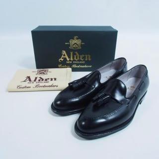 Alden - オールデン Alden タッセルローファー  ブラックカーフ