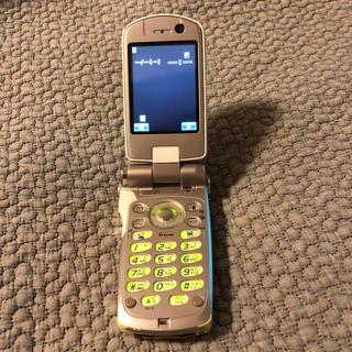 パナソニック(Panasonic)のドコモ docomo P900iV ガラケー(携帯電話本体)