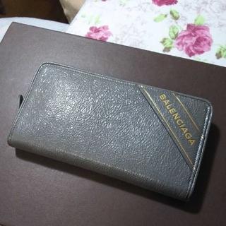 バレンシアガ(Balenciaga)のBALENCIAGA  ラウンドファスナー長財布レザー(長財布)