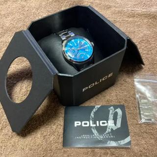 ポリス(POLICE)の【電池交換済み】 POLICE FLASH ポリス フラッシュ(ブルー)腕時計(腕時計(アナログ))