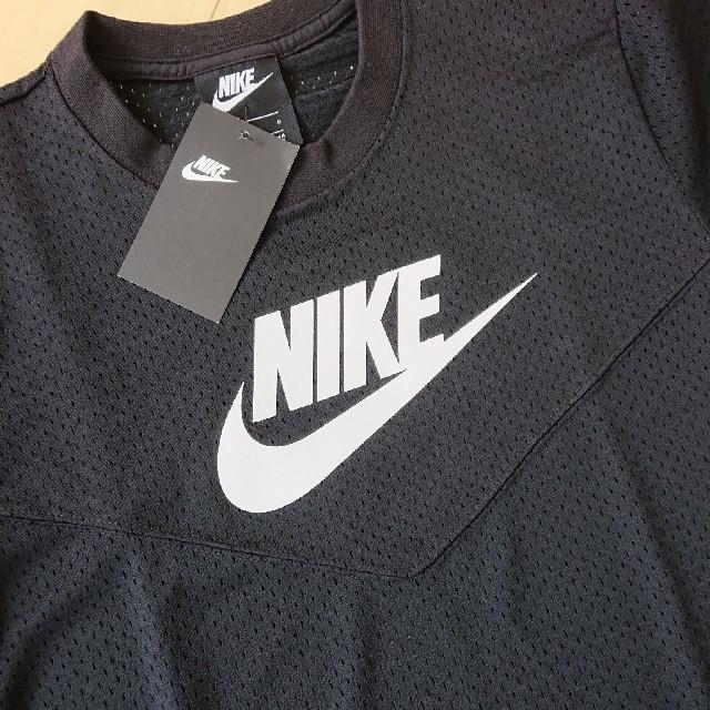 NIKE(ナイキ)の新品 NIKE メッシュ L トップス ナイキ レディースのトップス(Tシャツ(半袖/袖なし))の商品写真