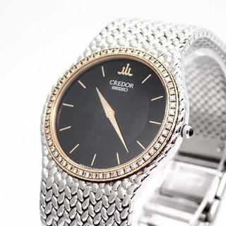 SEIKO - 【SEIKO】セイコー腕時計 'クレドール' ダイヤモンドベゼル ☆美品☆