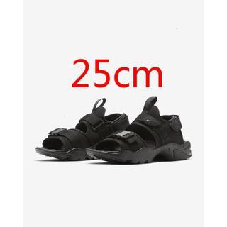 NIKE - NIKE キャニオンサンダル 黒 25cm