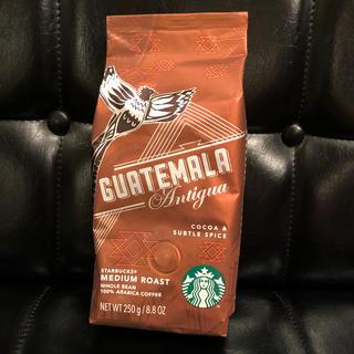 スターバックスコーヒー(Starbucks Coffee)のスタバ コーヒー豆 グァテマラ 250g(コーヒー)