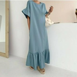 ZARA - バースデーバッシュ ロングスモッグドレス