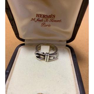 エルメス(Hermes)のHermes エルメス ベルトモチーフシルバーリング(リング(指輪))