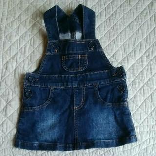 ムジルシリョウヒン(MUJI (無印良品))のジャンパースカート 80(スカート)