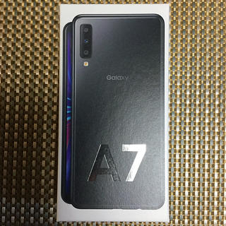 Galaxy - 未開封新品 Garaxy A7 ブラック 64GB SIMフリー