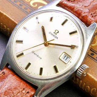 オメガ(OMEGA)の★極上美品★OMEGA オメガ ジュネーブ 1950's 手巻き 腕時計(腕時計(アナログ))