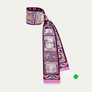 ルイヴィトン(LOUIS VUITTON)の非常に入手困難‼️正規 【日本完売 AW2019-20新作 LVスカーフ】(バンダナ/スカーフ)