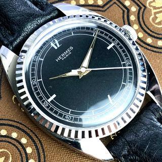 Hermes - ★美品★OH済★HERMES エルメス 手巻き 腕時計 アンティーク メンズ