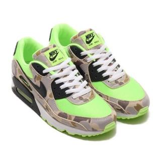 NIKE - NIKE AIR MAX 90 DUCK CAMO GHOST GREEN