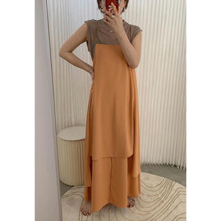 Ameri VINTAGE - アメリヴィンテージ ワンピース MEDI LADY LAYERED DRESS