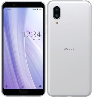 AQUOS - SHARP AQUOS sense3 plus ホワイト