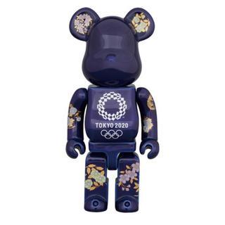 有田焼 ベアブリック 400% 東京 2020 オリンピックエンブレム